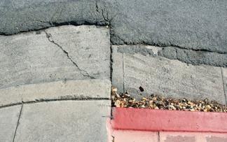 shifted sidewalk