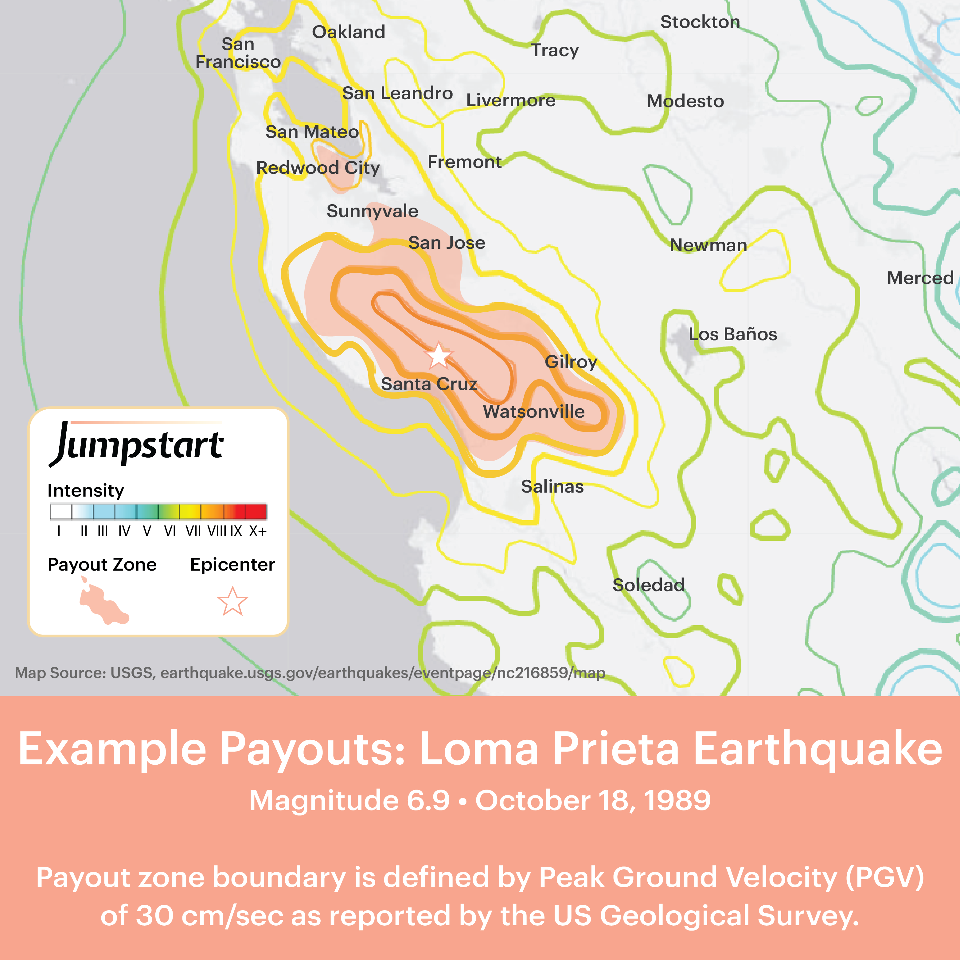 Usgs Earthquake Map San Francisco.Which Quakes Trigger Earthquake Insurance Payment Jumpstart Blog