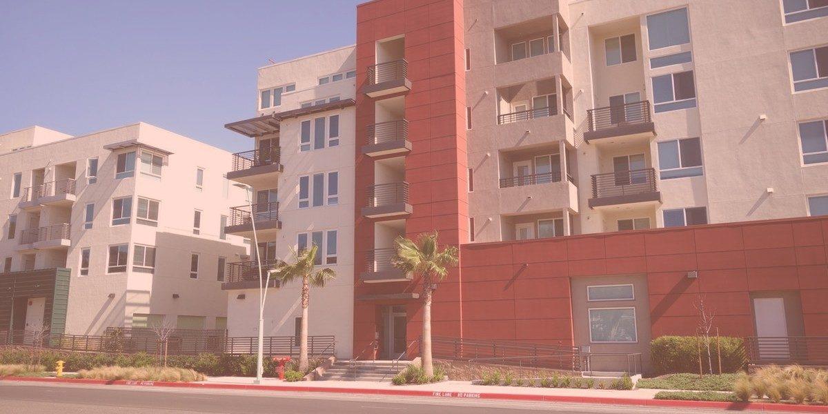 Apartment complex in California