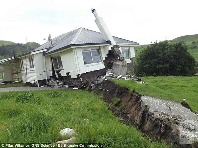 Night Earthquakes - House on Fault