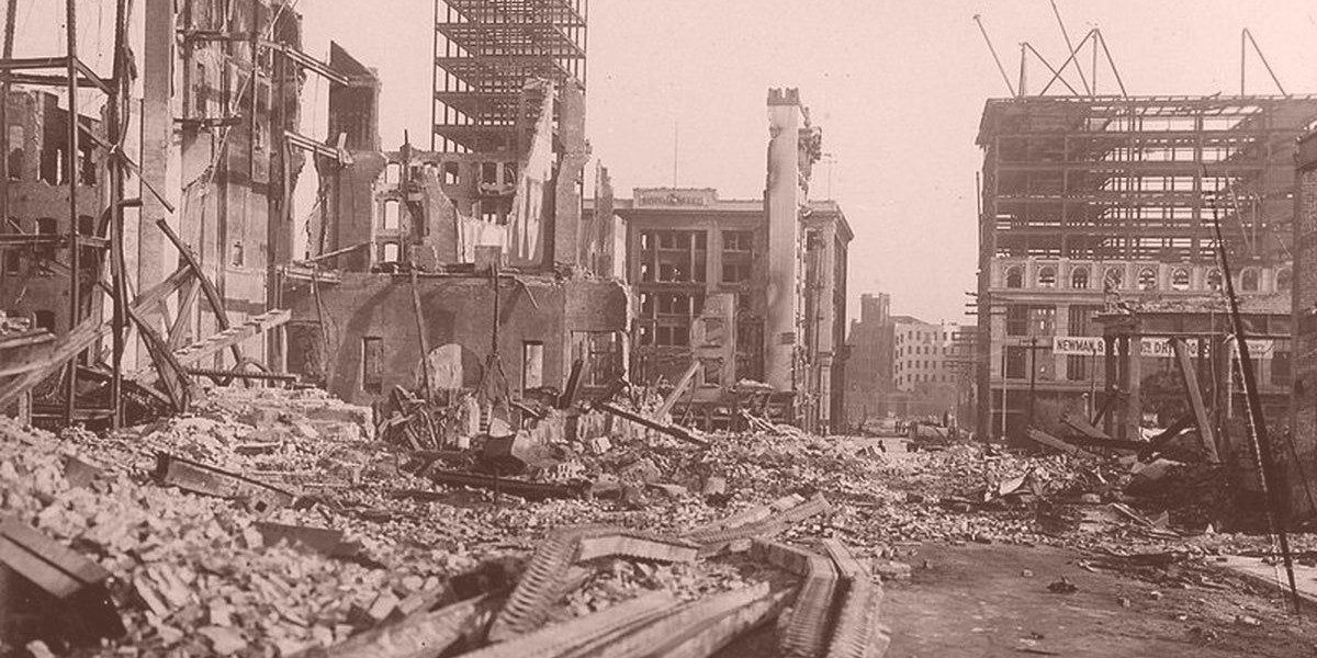 1906 San Francisco Earthquake: New Video Footage