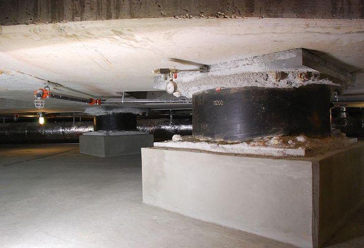 Base Isolation in San Francisco - Base isolator