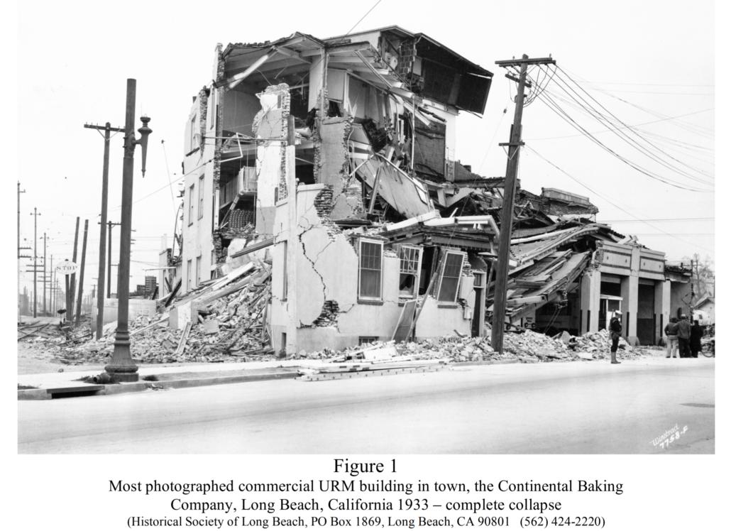 Brick Buildings Long Beach Collapse