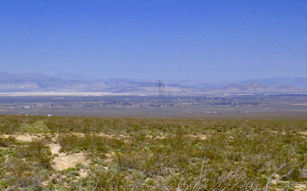 Ridgecrest as seen from CA hwy 178