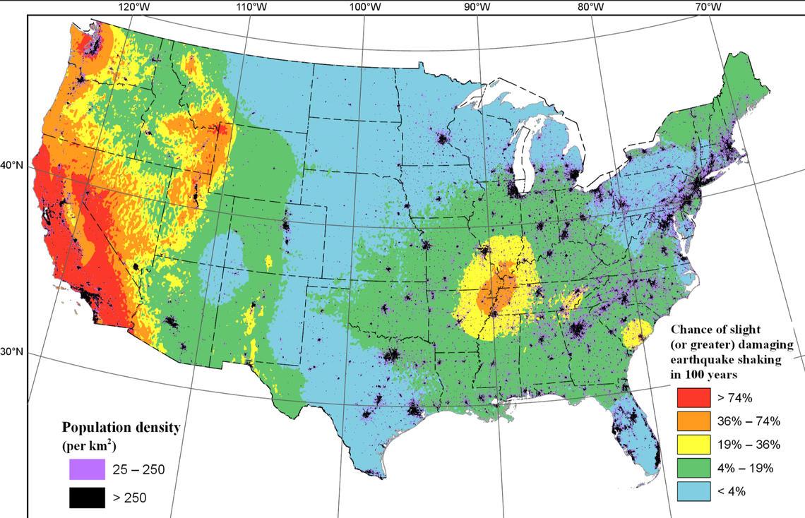 Protecting Earthquake Risk in Washington and Oregon